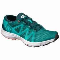 Salomon CROSSAMPHIBIAN SWIFT W - Løpesko Dame - Turkis | IELVSD94