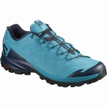 Salomon OUTpath W - Tursko Dame - Turkis/Marineblå | DQTXNK48