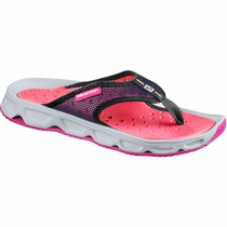Salomon RX BREAK W - Slippers Dame - Rosa/Grå | JABHLS60