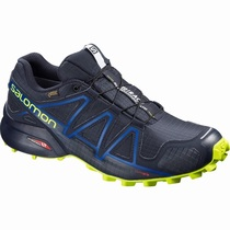 Salomon SPEEDCROSS 4 GTX® S/RACE LTD - Terrengløpesko Herre - Marineblå | KOLCUI75